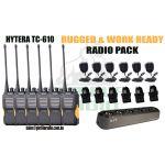 Gorilla Radio - Rugged & Work Ready Hytera Radio Pack